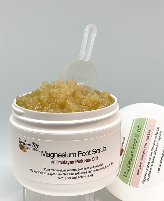 Magnesium Foot Scrub