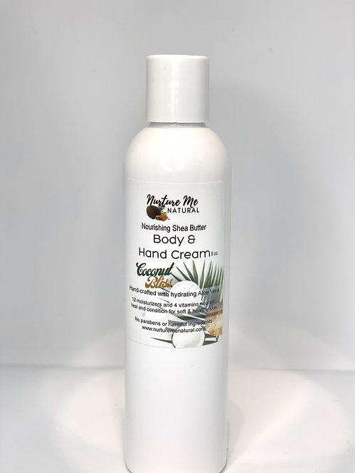 Body & Hand Cream-Coconut Bliss