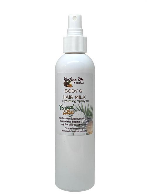 Body & Hair Milk-Coconut Bliss