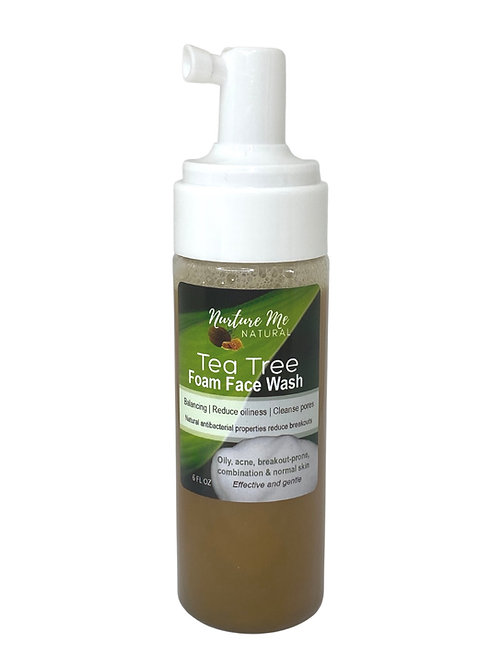 Tea Tree Foam Face Wash