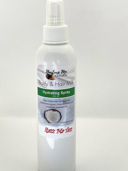 Body & Hair Milk-Razz Mà Tazz
