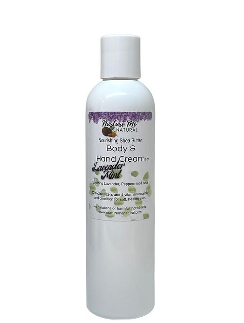 Body & Hand Cream-Lavender Mint