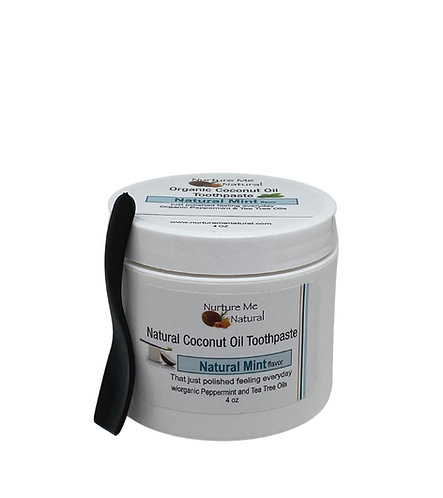 Natural Mint Coconut Oil Toothpaste