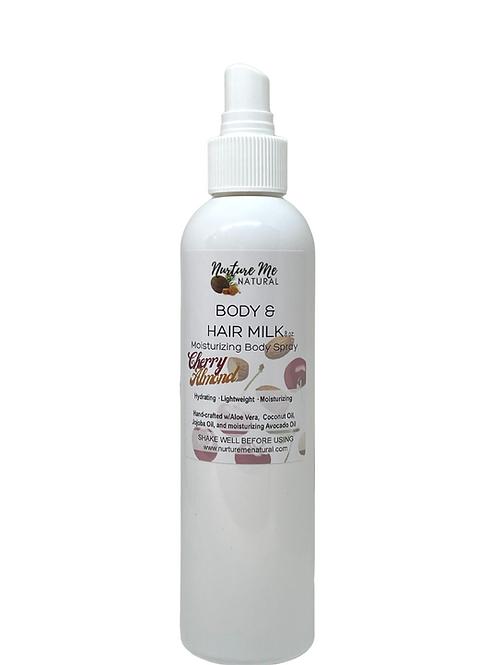 Body & Hair Milk-Cherry Almond