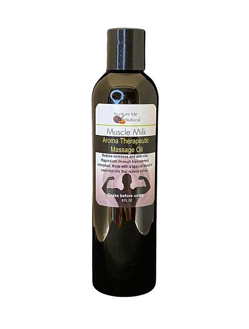Muscle Milk Massage Oil