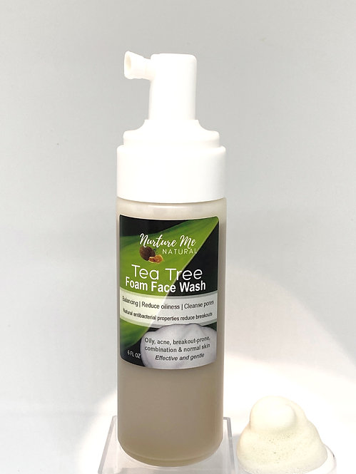 Tea Tree Foam Face Wash