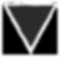 Grunge Треугольник - черный