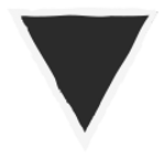 Grunge Triangle - Black