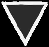 Triangle grunge - Noir