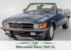 Mercedes Benz 560 SL