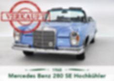 Mercedes Benz 280SE Hochkühler
