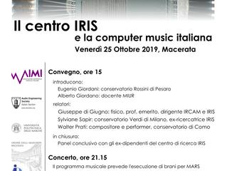 Upcoming conference with Di Giugno!