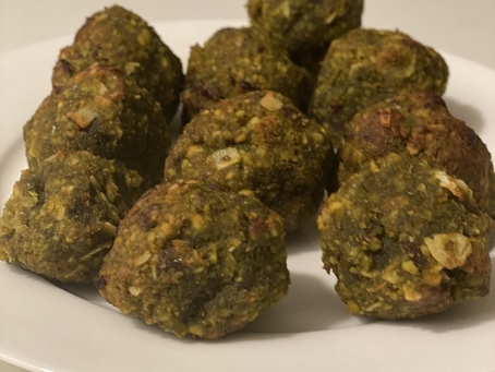 Carrot Maca Energy Balls