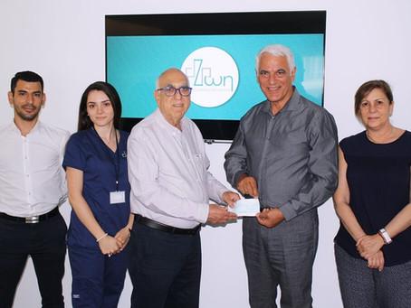 Tο Ιατρικό Διαγνωστικό Κέντρο «ΖΩΗ» Ενισχύει Το Έργο Του Συνδέσμου «Ένα Όνειρο Μια Ευχή»