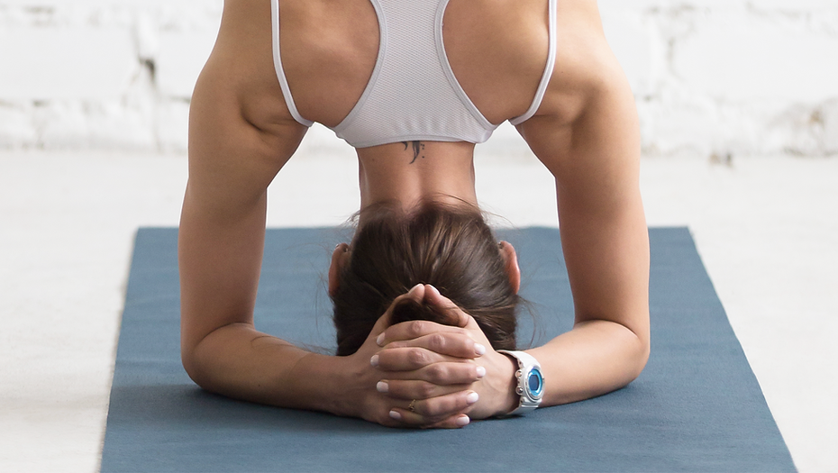 Yoga Head Stand Pose