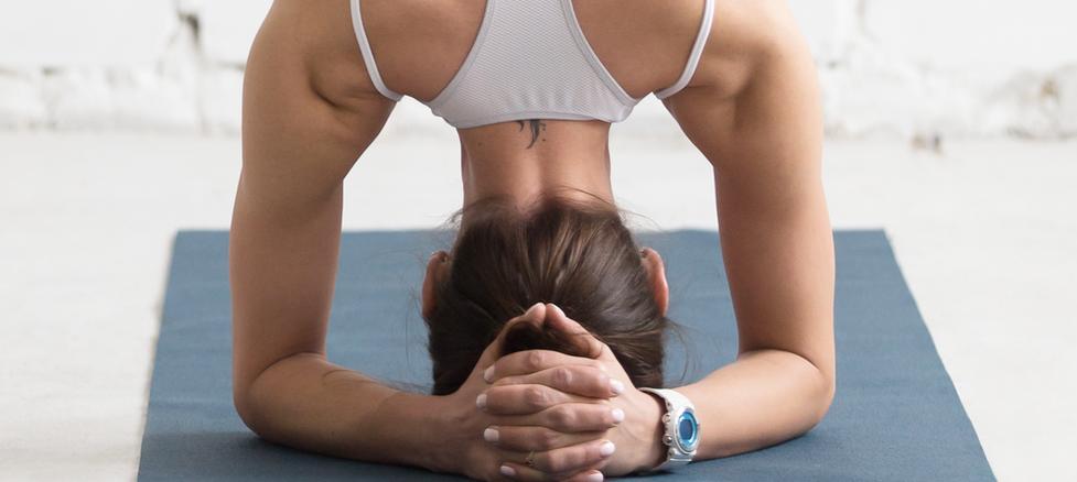 yoga Soporte de la pista Pose