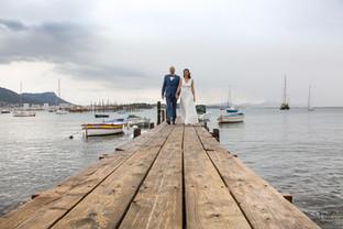 Valphotovar photographe mariage La Seyne sur Mer - Photo de couple sur le ponton