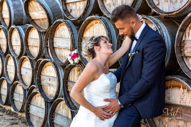 Valphotovar photographe mariage la Londe - Photo de couple - le Galoupet