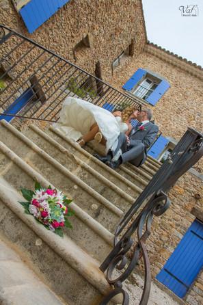 Valphotovar photographe Mariage Signes - La table du Château - Photos de couple