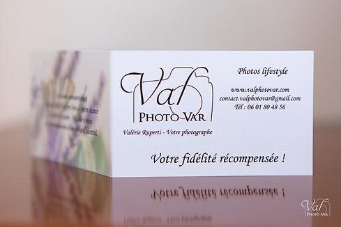 Valphotovar - Carte fidélité