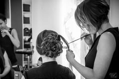 Valphotovar photographe Mariage la Garde - Coiffure de mariée - Air Sud Création