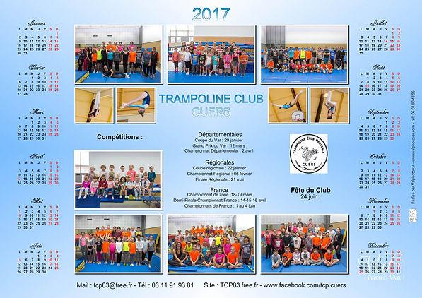 Valphotovar - conception calendrier association trampoline