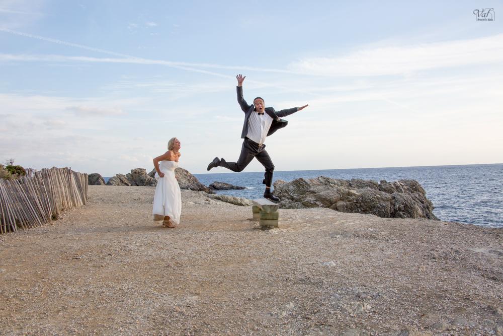 Photographe trash the dress Var - Le Gaou à Six fours - photo mariage fun et décalées