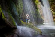 Valphotovar photographe Mariage le Val - Cascade du Grand Baou - Séance engagement