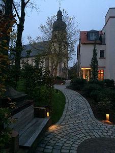 Garten Auberge de Temple