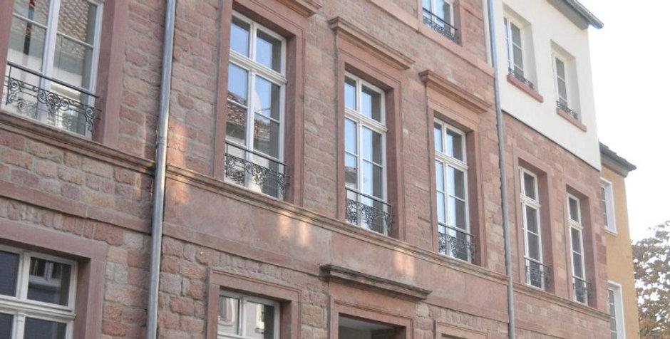 Sanierung | Klassizistisches Bürgerhaus Fassade