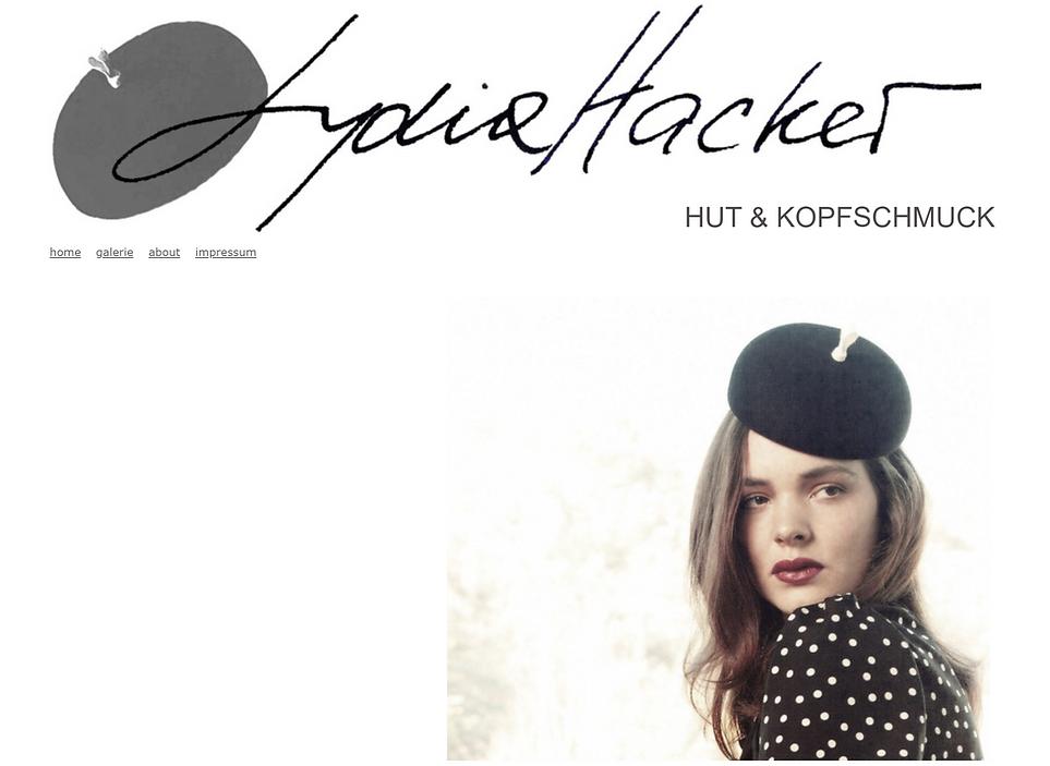 LYDIA HACKER I Hut & Kopfschmuck