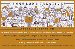 Penny Lane Creatives Invite