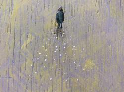 """Moonlit Walk' (Detail)"