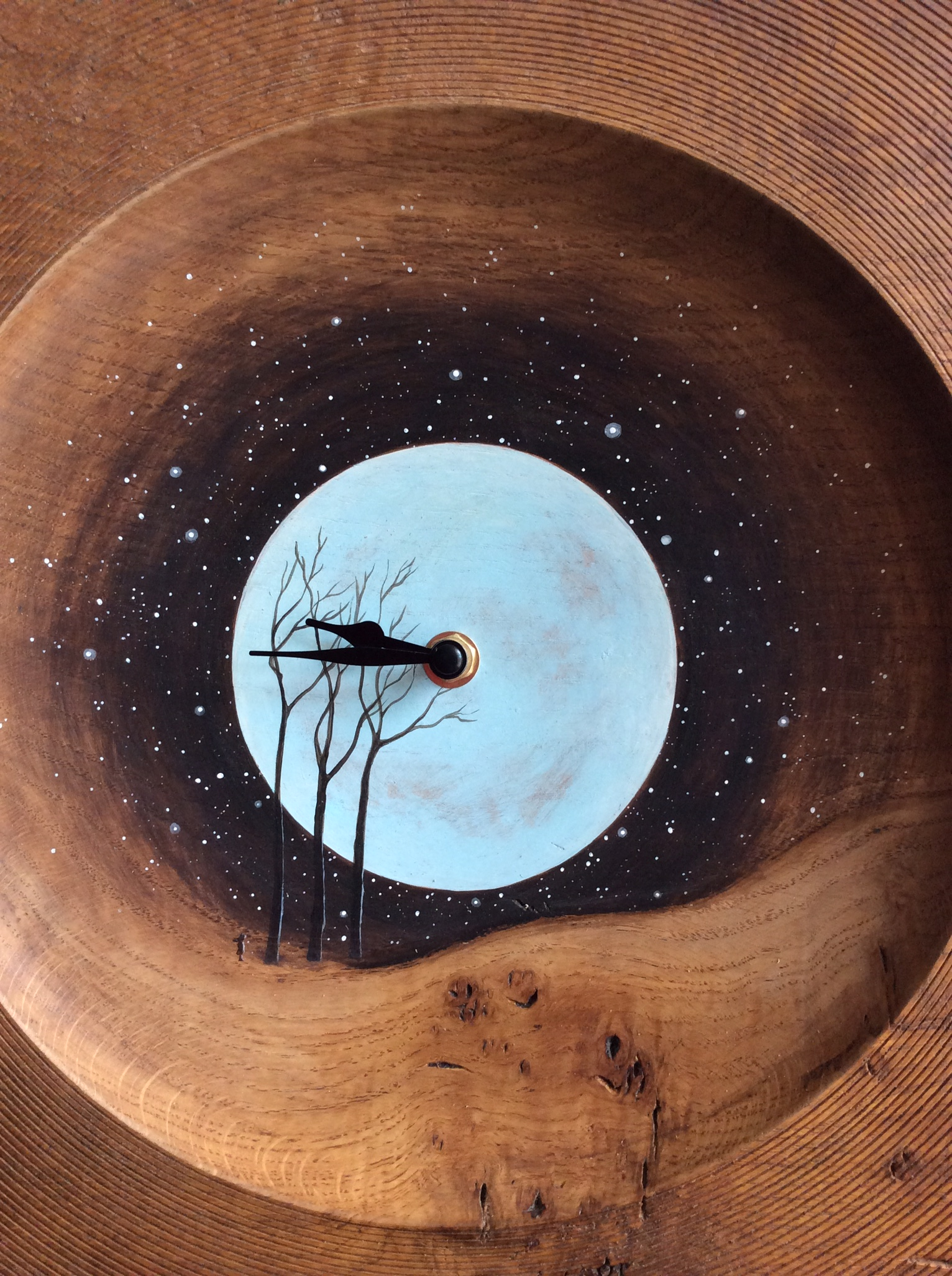 'Blue Moon' Clock