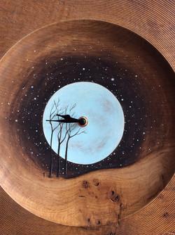 'Blue Moon' Clock