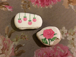 'Love and Rose' Stones