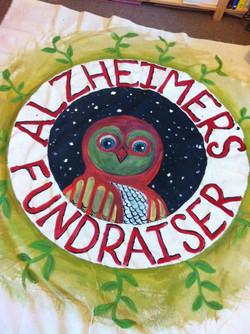 Alzheimer's Fundraiser banner