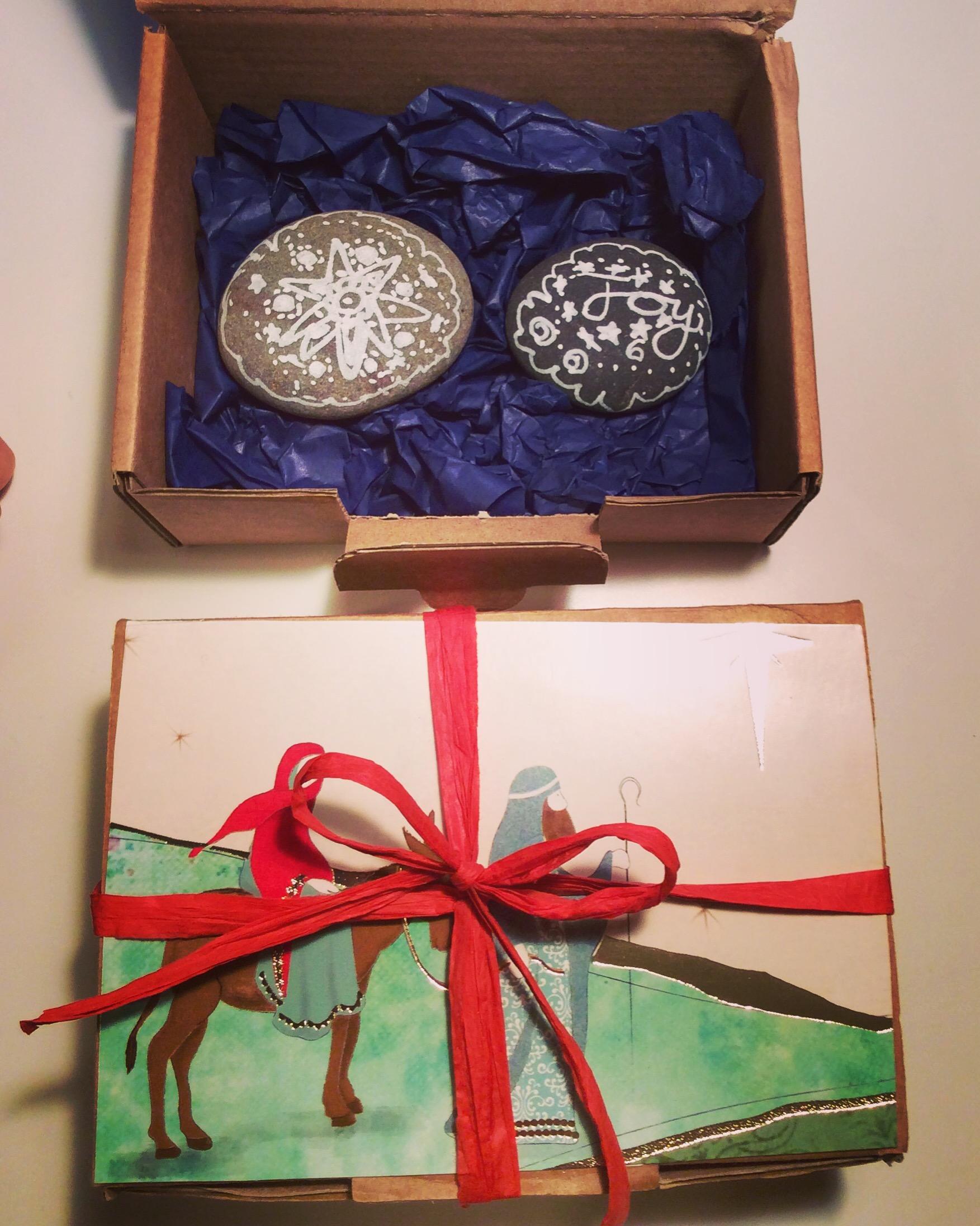 Festive stones!