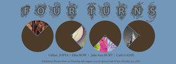 Four Turns Exhibition Poster