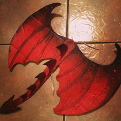 Dragon wings!