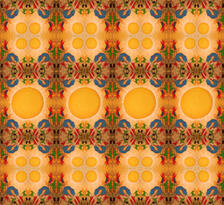 Sun Worship surface pattern design