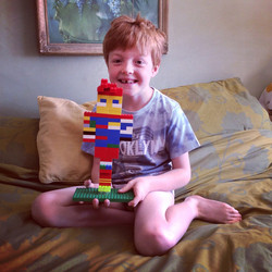 Lego Self Portrait