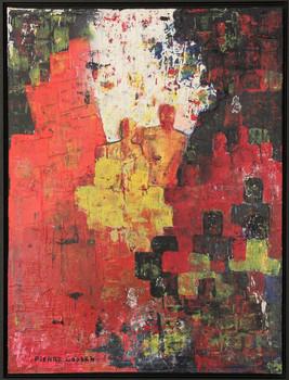Schilderij Human Chaos