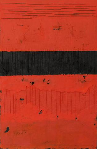 Schilderij Black Bars