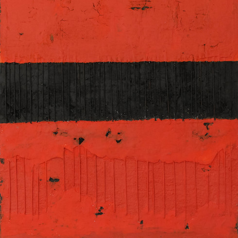Modern schilderij Black Bars