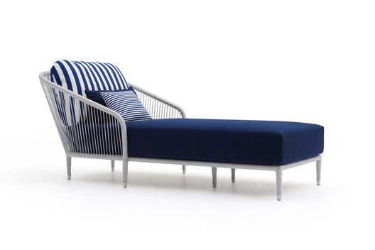 LL Wing chaise longue
