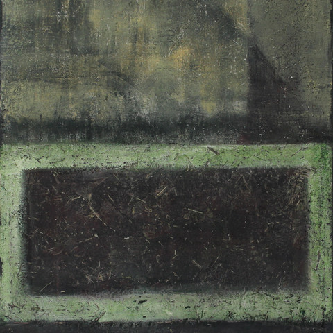 Modern schilderij Green Fantasy
