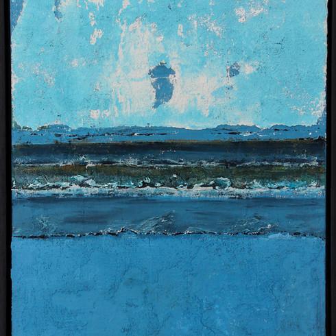 Moderne kunst Blue Beach