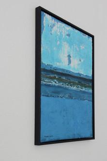 Schilderij Blue Beach