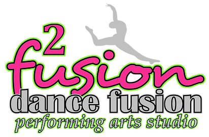 Fusion2 Logo Colored For Printing On Bla